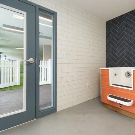 Pet Wash Station | The Reserve at Burlington