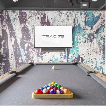 Pool table and Game Room TRAC 75