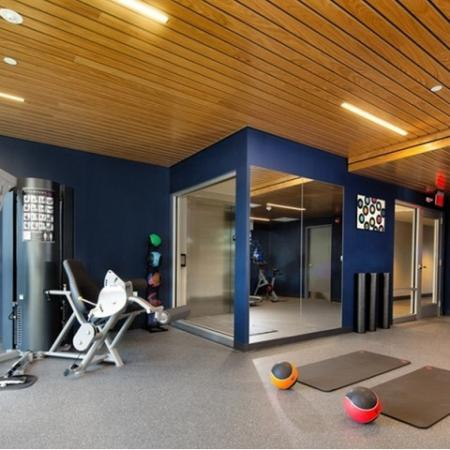 State-of-the-Art Fitness Center | Allston Massachusetts Apartments for Rent | TRAC 75