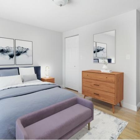 bedroom Waltham Overlook Apartments