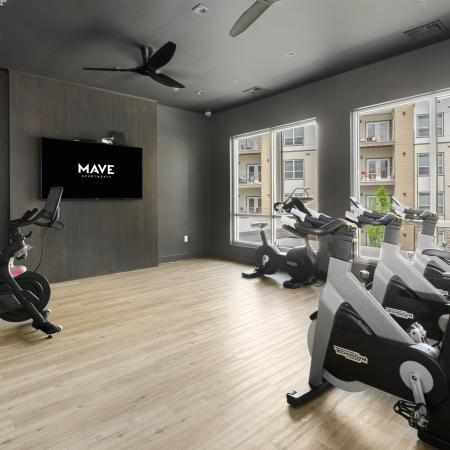 Mave Fitness center, Mave apartments for rent in Stoneham