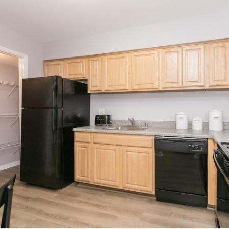 Kitchen at Crofton village apartments in Crofton MD