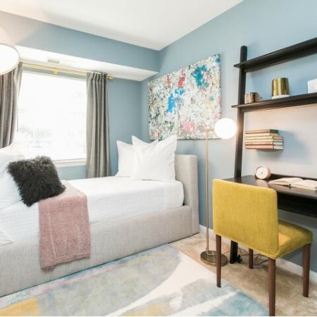 Spacious bedroom at Crofton Village apartments at Crofton MD