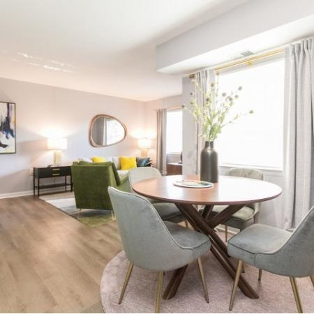 Luxury living and dining room | Crofton Village | apartments Millersville MD