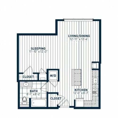 S1B Floor Plan