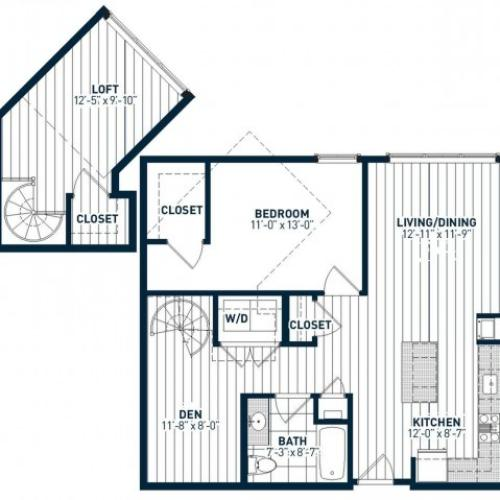 A1DL Floor Plan