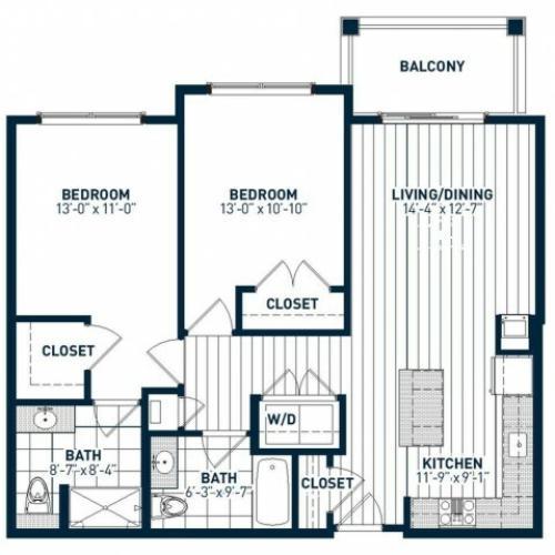 B2D Floor Plan