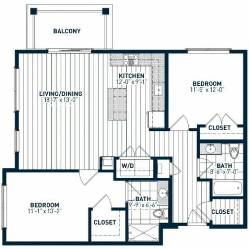 B2F Floor Plan
