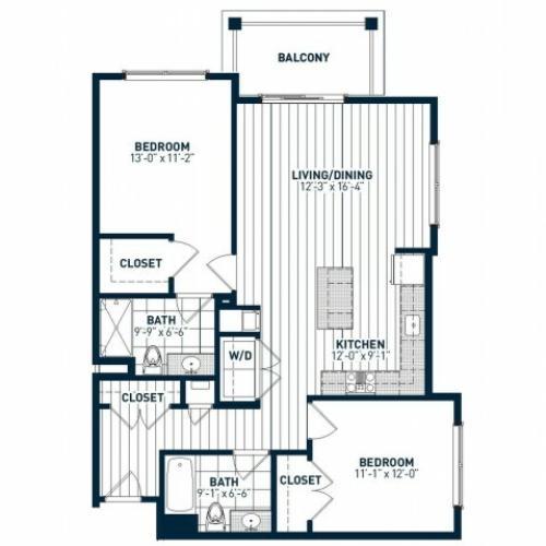 B2K Floor Plan