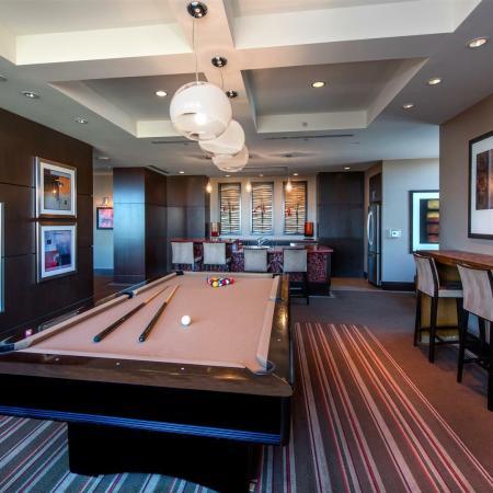 Top Floor Clubroom with Billiards