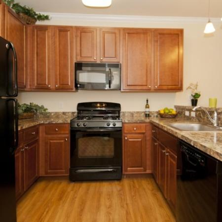 beautifully appointed finishes throughout apartment