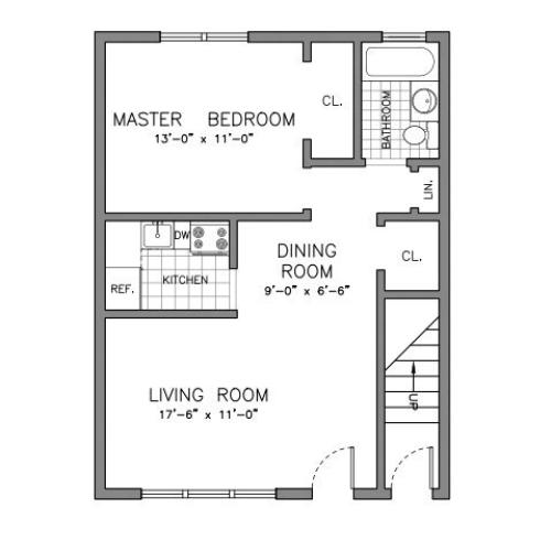 Saddlebrook Apartments: 2 Bed / 1 Bath Apartment In SADDLE BROOK NJ