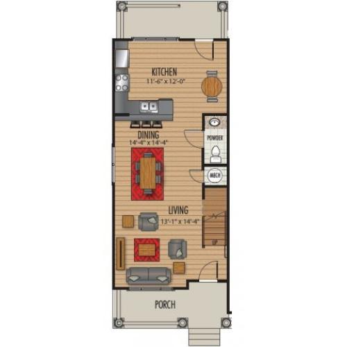 Floor Plan 4 | Homestead at Hartness