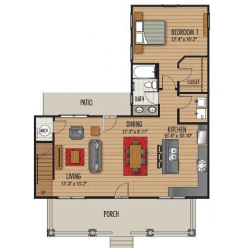 4 Bedroom Floor Plan | Homestead at Hartness