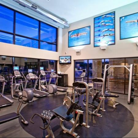 State-of-the-Art Fitness Center | Apartments In Energy Corridor Houston Texas | Briar Forest Lofts
