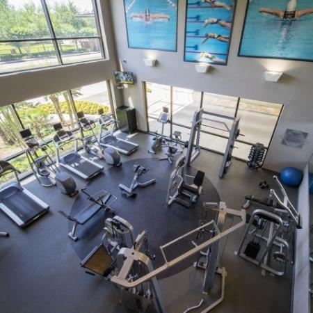 Cutting Edge Fitness Center | Apartments In Houston Energy Corridor Area | Briar Forest Lofts