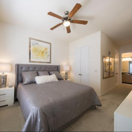Spacious Master Bedroom | Apartments In Houston Energy Corridor Area | Briar Forest Lofts