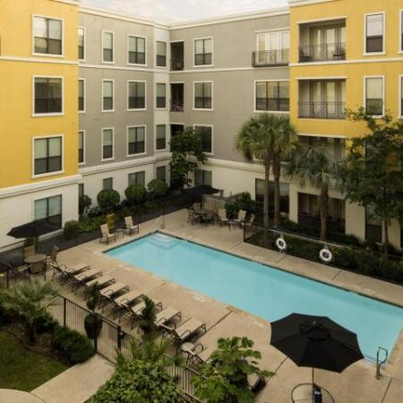 Resort Style Pool | Energy Corridor Luxury Apartments | Briar Forest Lofts