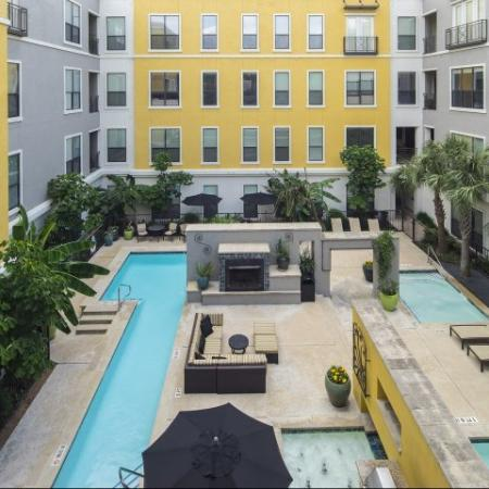 Swimming Pool | Apartments In Energy Corridor Houston Texas | Briar Forest Lofts