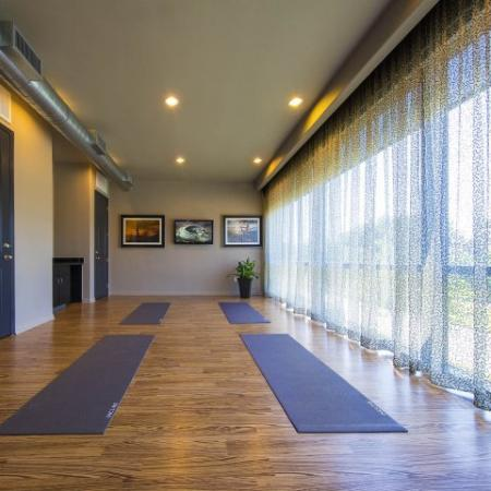 Resident Yoga Studio | Energy Corridor Luxury Apartments | Briar Forest Lofts