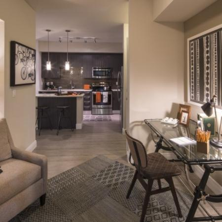 Spacious Living Area | Brickell Miami Apartments For Rent | SOMA at Brickell