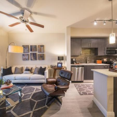 Luxurious Living Area | Luxury Apartments In Brickell Miami | SOMA at Brickell