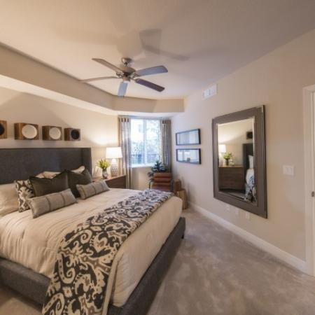 Spacious Master Bedroom | Brickell Miami Apartments For Rent | SOMA at Brickell