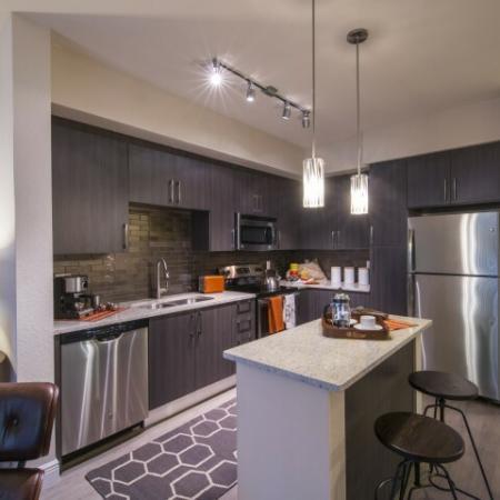 Elegant Kitchen | Luxury Apartments In Brickell Miami | SOMA at Brickell