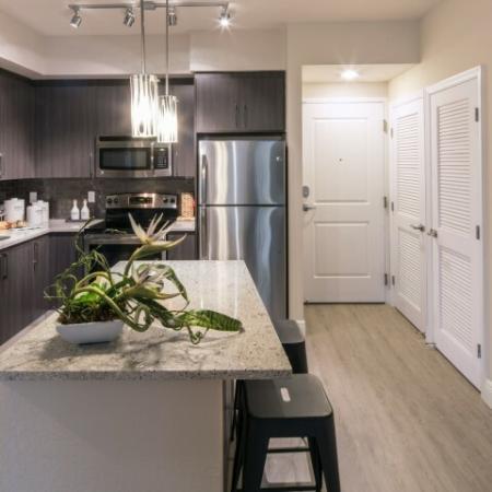 Spacious Kitchen | Brickell Miami Apartments | SOMA at Brickell
