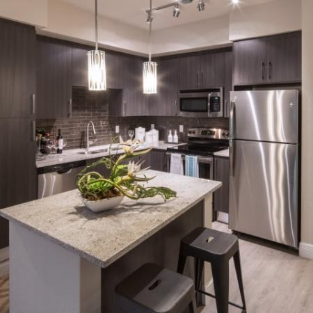 Luxurious Kitchen | Miami Apartments In Brickell | SOMA at Brickell