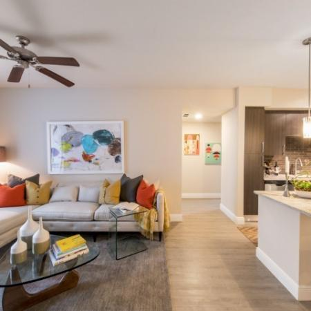 Spacious Living Area 1 | Brickell Miami Apartments For Rent | SOMA at Brickell