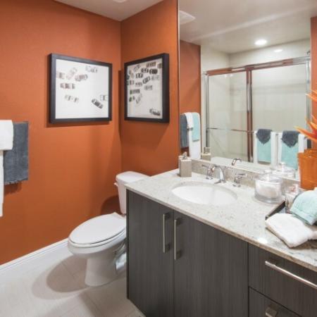 Luxurious Bathroom | Brickell Miami Apartments | SOMA at Brickell