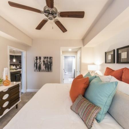 Elegant Master Bedroom | Apartments For Rent In Brickell Miami | SOMA at Brickell