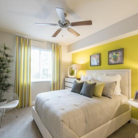 Elegant Bedroom | Apartments For Rent In Brickell Miami | SOMA at Brickell