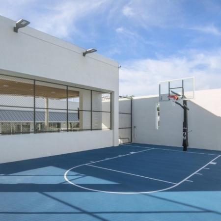 Community Basketball Court | Brickell Miami Apartments For Rent | SOMA at Brickell