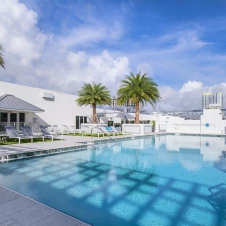 Sparkling Pool | Brickell Miami Apartments | SOMA at Brickell