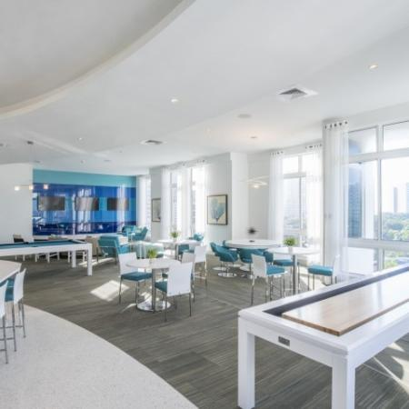 Resident Billiards Table | Apartments For Rent In Brickell Miami | SOMA at Brickell