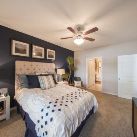 Spacious Master Bedroom | Apartments In Knox Henderson | Fitzhugh Urban Flats