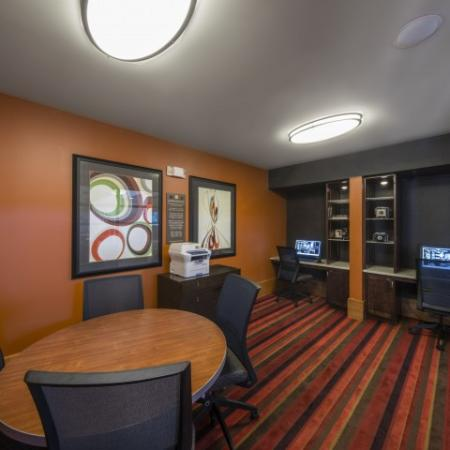 Resident Business Center | Knox Henderson Dallas Apartments | Fitzhugh Urban Flats