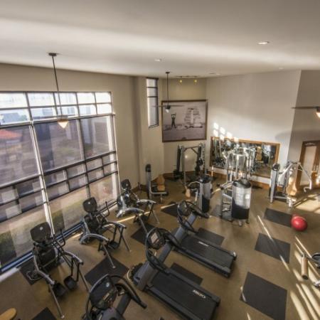 Resident Fitness Center | Knox Henderson Dallas Apartments | Fitzhugh Urban Flats