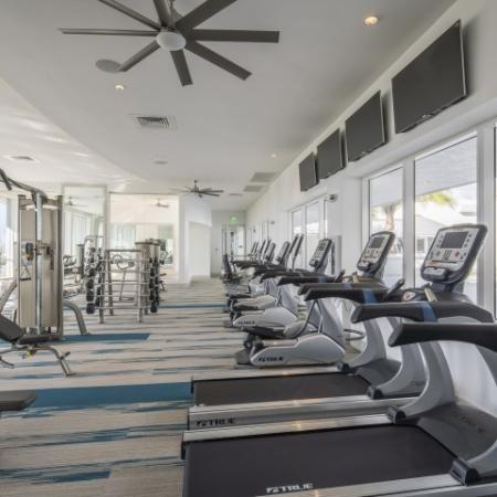 Cutting Edge Fitness Center | Brickell Miami Apartments For Rent | SOMA at Brickell