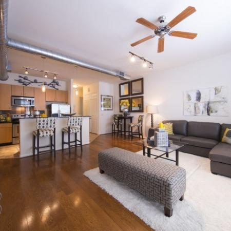 Elegant Living Area | Houston Energy Corridor Apartments | Briar Forest Lofts