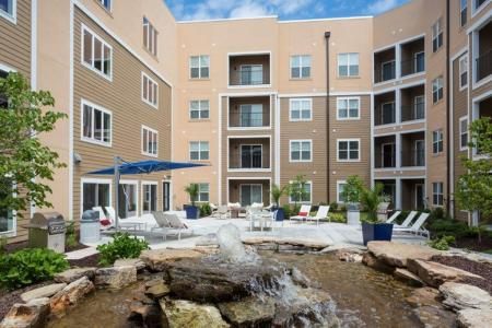 Beautifully Landscaped Grounds | Vanguard Heights