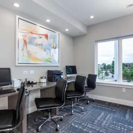 Resident Business Center | Vanguard Heights