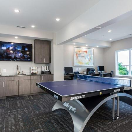 Resident Ping Pong Table | Vanguard Heights