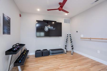 On-site Fitness Center | Vanguard Heights
