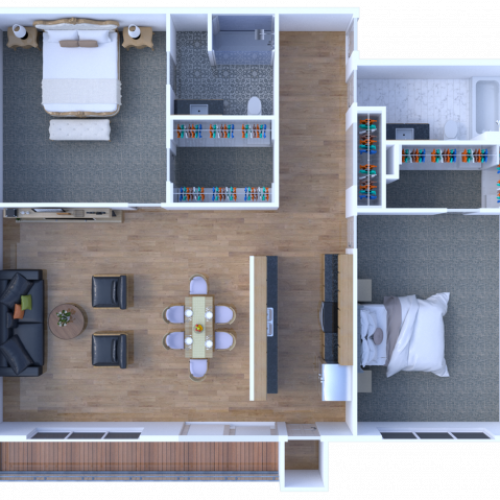 Two Bedroom - Deluxe