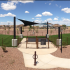 Community amenities such as our dog park available at our 1, 2, and 3 bedroom Apartments in Chandler AZ