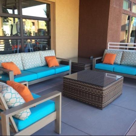 Resident Sun Deck | Liv Ahwatukee Apartments