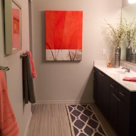 Spacious Bathroom | Liv Ahwatukee Apartments